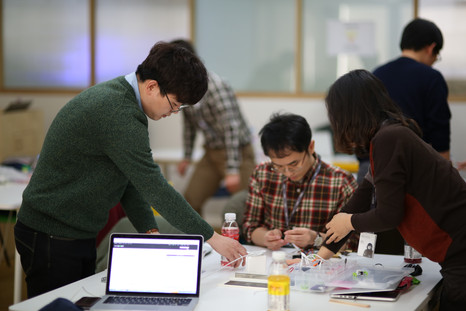 NHN NEXT에서 진행한 littleBits IoT워크샵