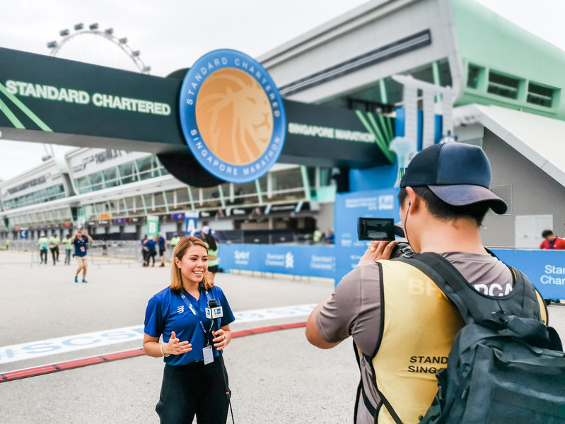 Standard Chartered Singapore Marathon Live Broadcast