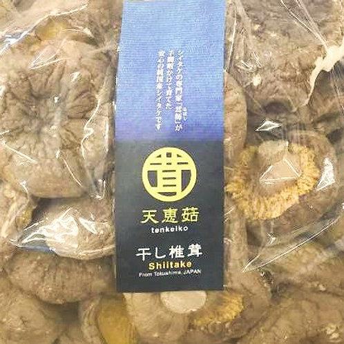 徳島県産 業務用 干し椎茸(丸干し) プレミアム椎茸 天恵菇 1袋