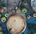 Pie rustique d'Apple