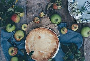 Сельский яблочный пирог