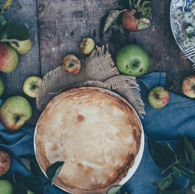 Rustikální Apple Pie