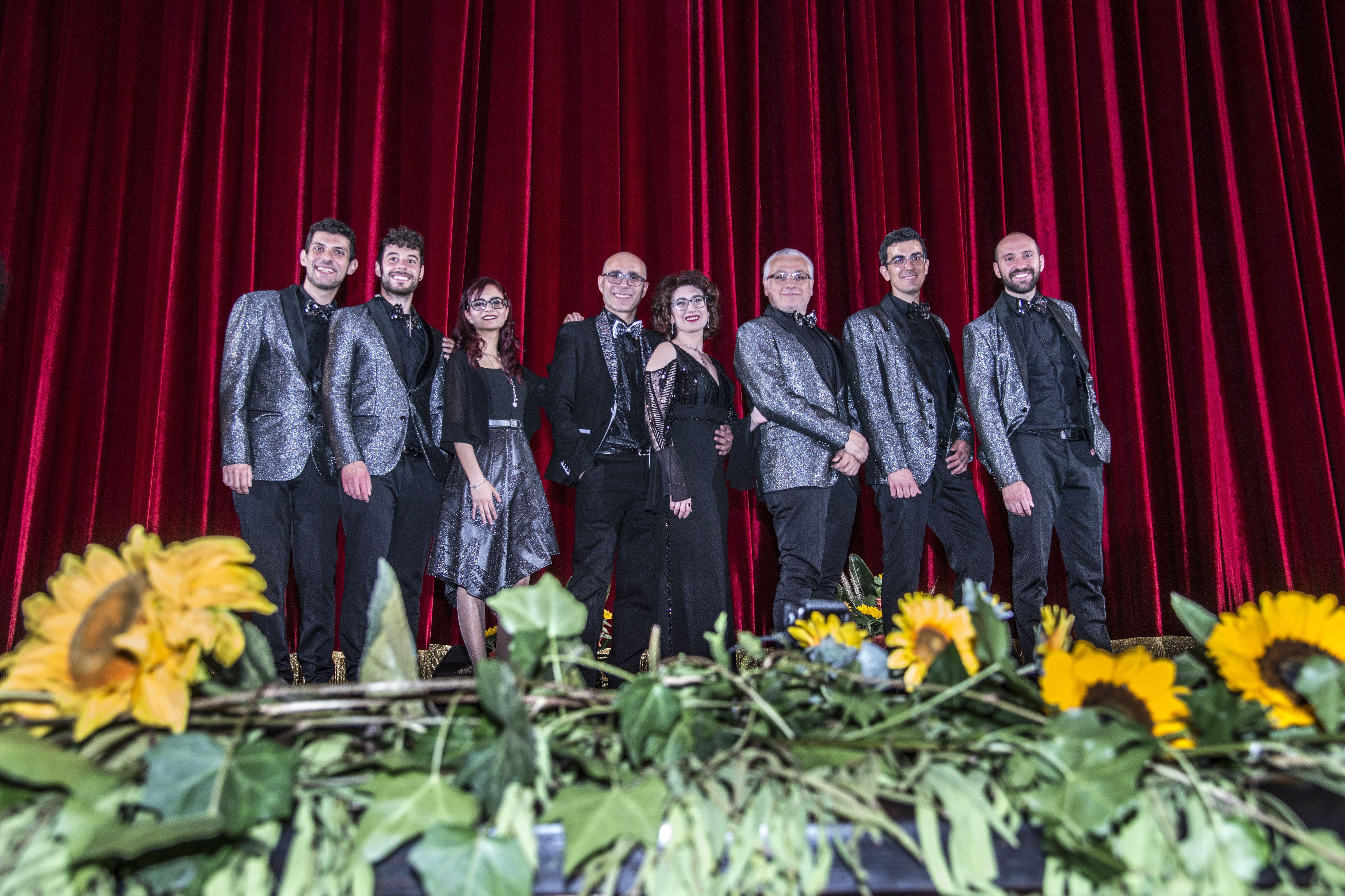 Atmosfera Blu - foto di gruppo Teatro Ma