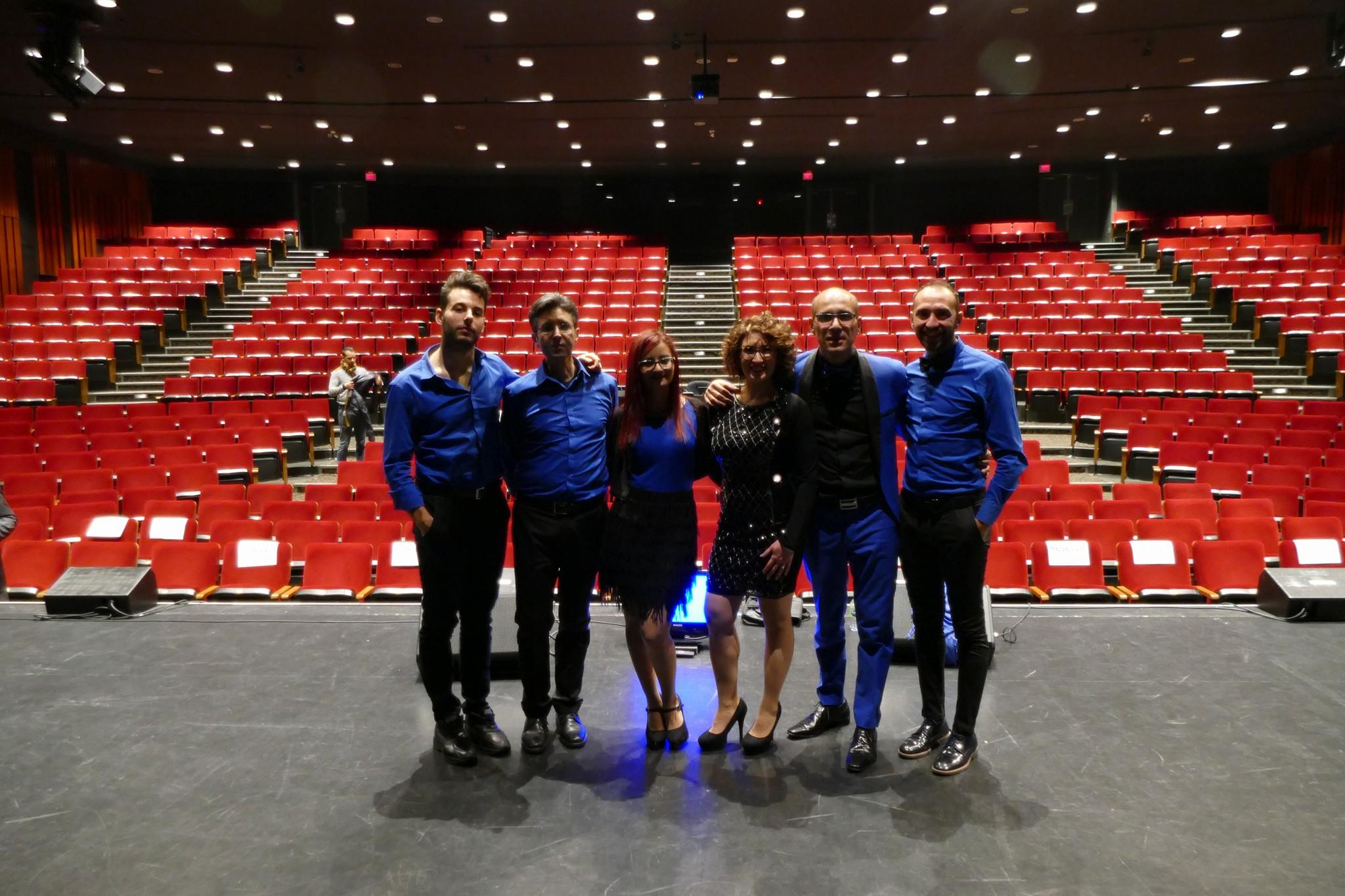 Atmosfera Blu al Teatro Desjardins