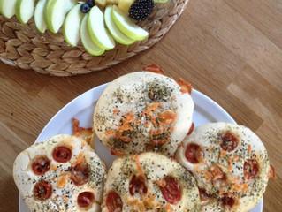 Glutenfreie Kleine Focaccia ohne Hefe