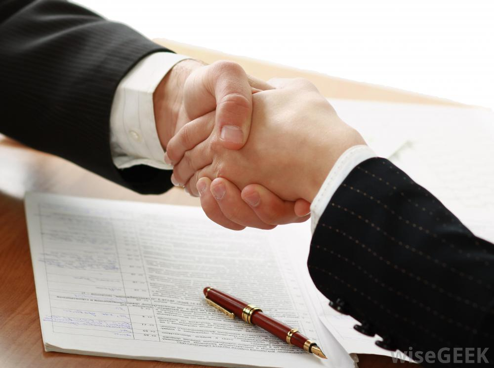 Mac handshake-and-contract