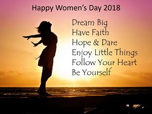 Happy Women's Day 2018