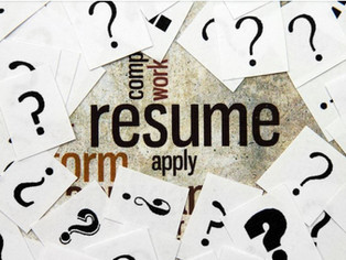 Does Your Resume Answer These 3 Questions?