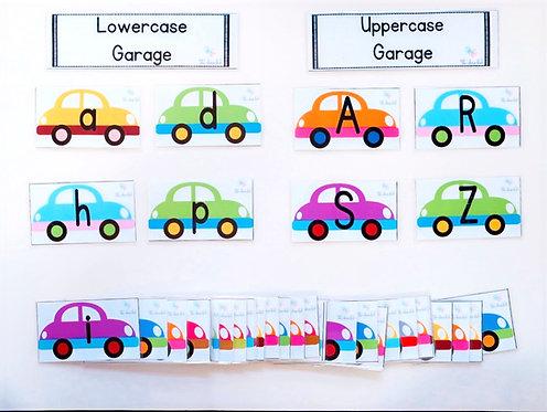 Alphabet Car Sorting