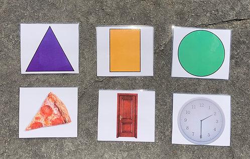 2D Shapes Nomenclature Cards