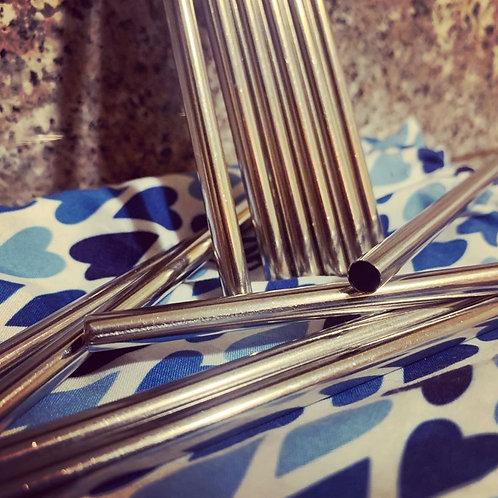 """5"""" Aluminum Straws (10)"""