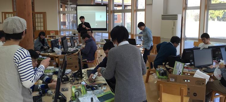 秋田県の五城目町地域活性化支援センターで開催した「いなかソン」の様子