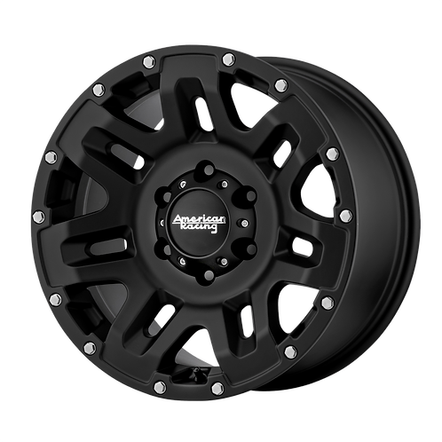 AMERICAN RACING YUKON CAST IRON BLACK