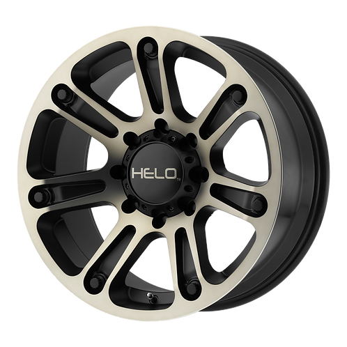 HELO HE904 SATIN BLACK MACHINED W/ DARK TINT