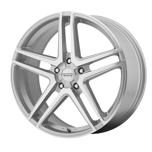 AMERICAN RACING AR907 SILVER MACHINED