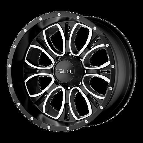 HELO HE879 GLOSS BLACK MACHINED & MILLED
