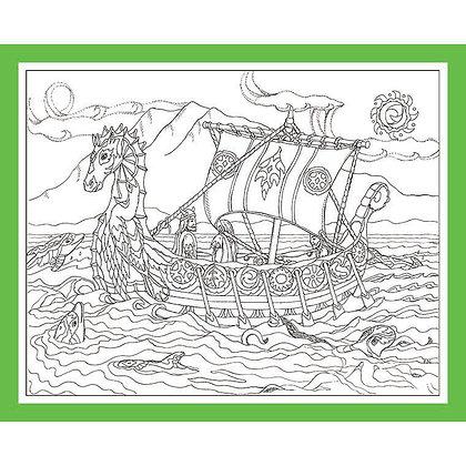 "Viking Ship: ""Visitors"""