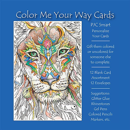 Color Me Your Way Cards