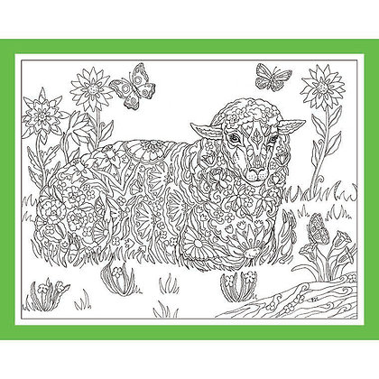 """Lamb: """"Wooly Flowers"""""""