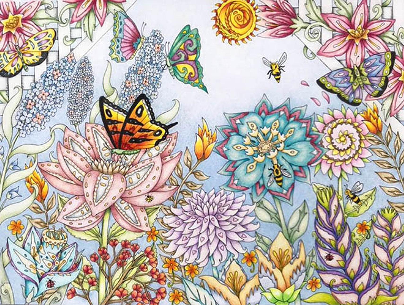 P.J.C. Smart\'s Color Me Your Way Coloring Books
