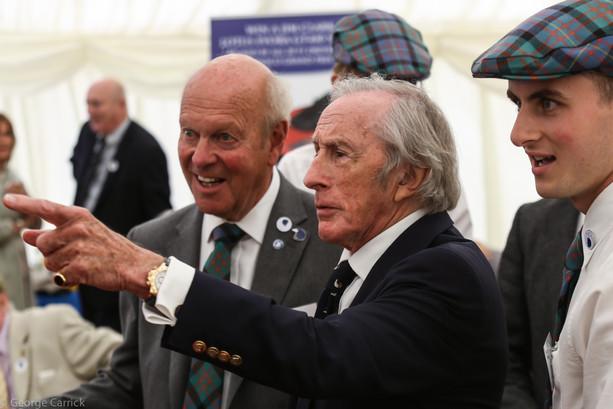 Sir Jackie Stewart.
