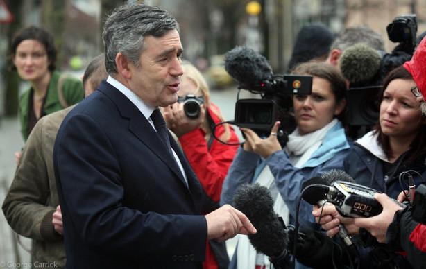 Prime Minster Gordon Brown