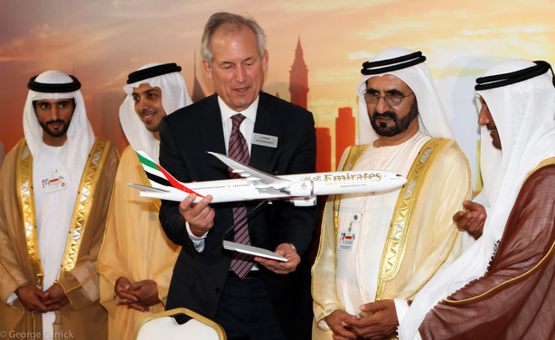 H.H. Sheikh Mohammed bin Rashid Al Maktoum.