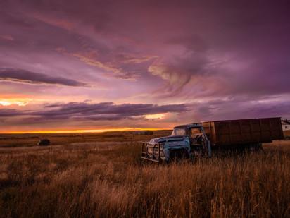 Old truck, Saskatchewan