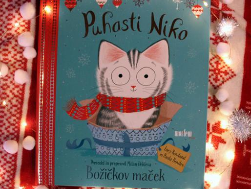 Knjigozavri: Puhasti Niko; Božičkov maček