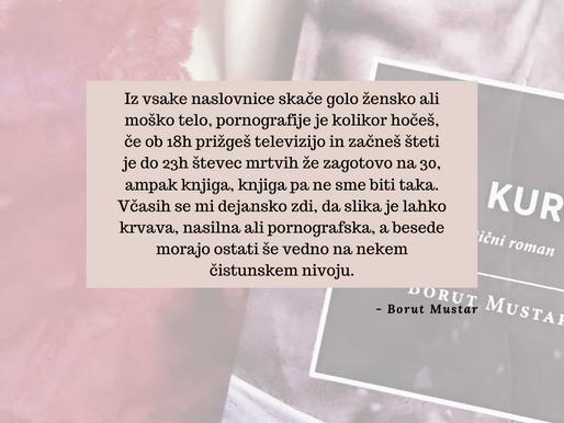 Intervju: Borut Mustar, avtor uspešnice On, kurba