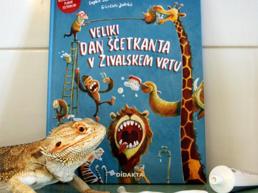 Knjigozavri: Veliki dan ščetkanja v živalskem vrtu