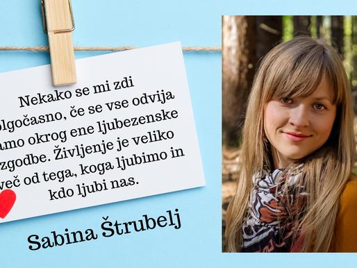🎄 Intervju: Sabina Štrubelj