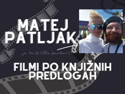 🎄Knjige v svetu filma: Predlogi Mateja Patljaka
