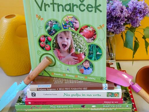 Knjigozavri: Knjige za male vrtnarje