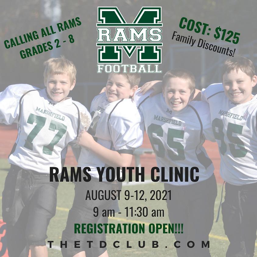 2021 Rams Football Youth Clinic