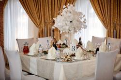 Сервировка свадебного стола Богородский