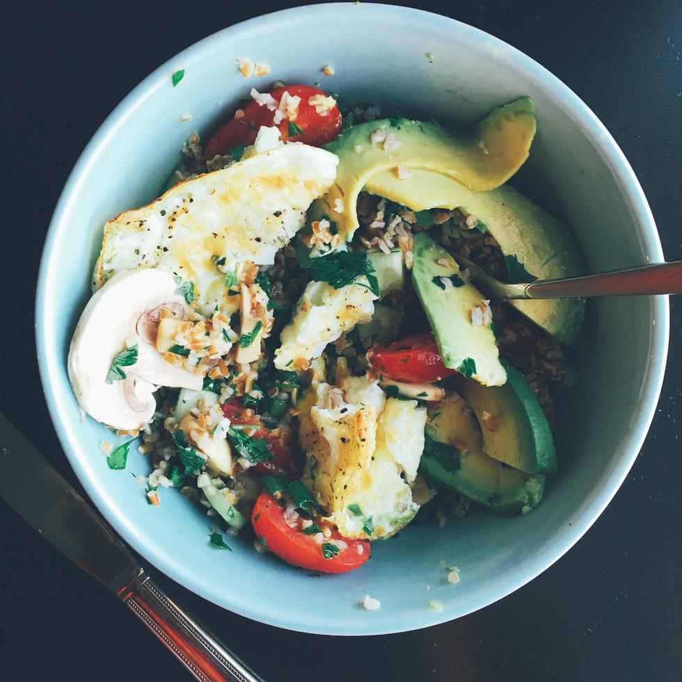 Breakfast Tabbouleh