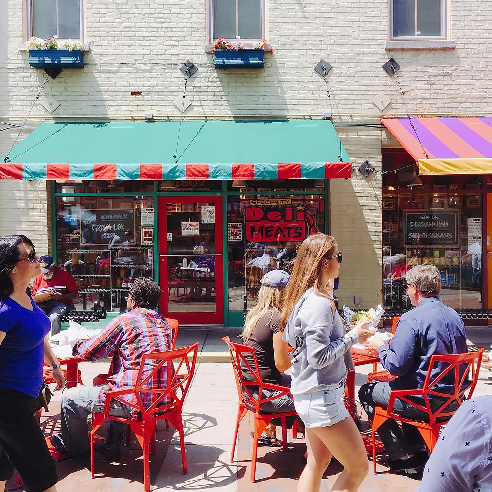 Findlay Market Scene, Cincinnati, OH