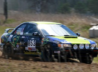 Noble Star Rally Keeps Spirits Up Despite 2nd DNF