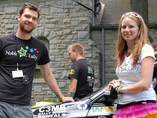 Noble Star Rally Team Partners with C3MB Rally Sport Rentals for 2013