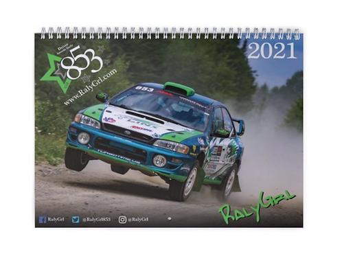2021 RalyGrl Calendar