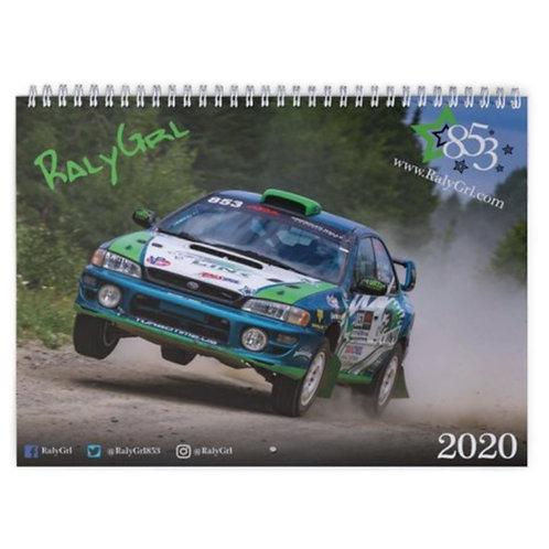 2020 RalyGrl Calendar