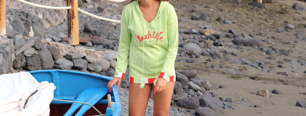 Beach life hoodie