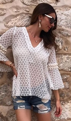 Summer Lace Blouse