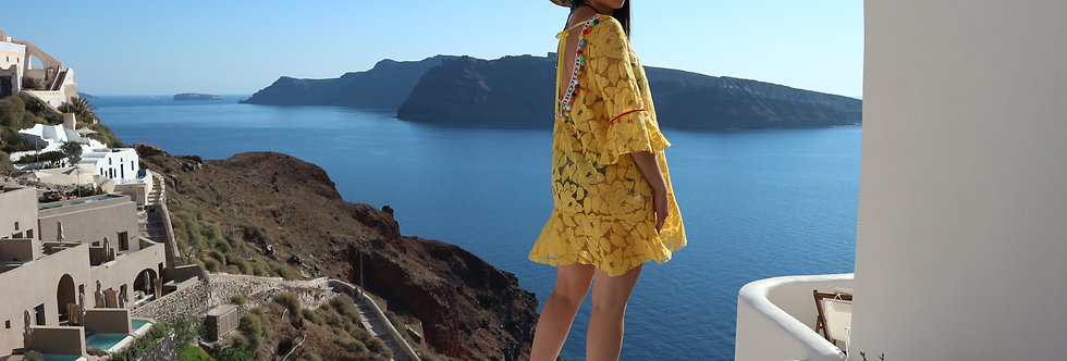 Palanga low back dress