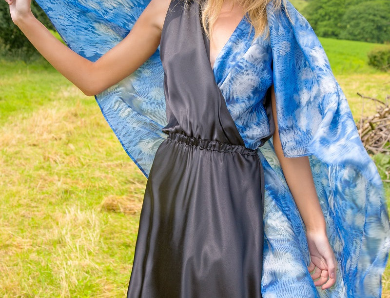 La Lucia Silk Wrap Dress