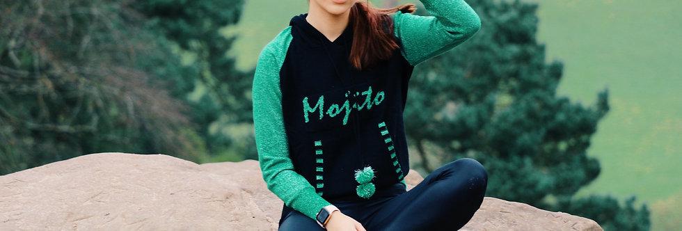 Mojito cashmere hoodie