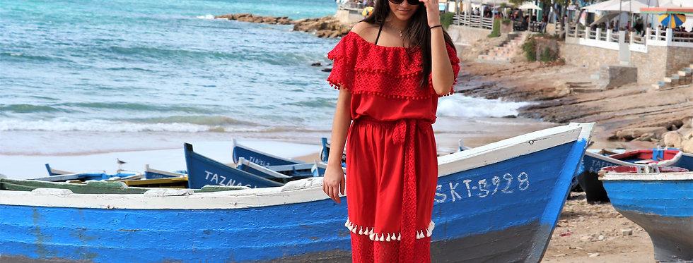 Essaouira maxi dress