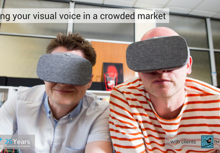 Finding your visual voice in a crowded market