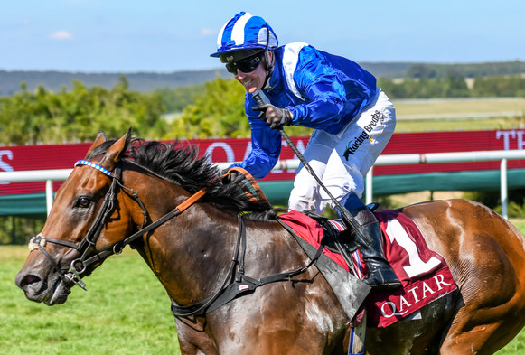 Battaash wins the Qatar King George Stakes at Goodwood 2018